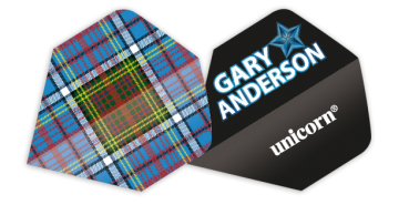 Unicorn Authentic .100 Flight - Gary Anderson Tartan