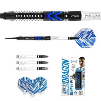 Red Dragon Gerwyn Price Blue Ice SE Softtip