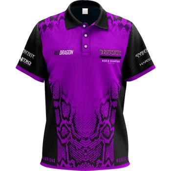 Red Dragon Peter Wright Snakebite World Champion Shirt