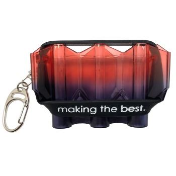 L-Style Krystal N9 Twin Color Flight Case Red Eye