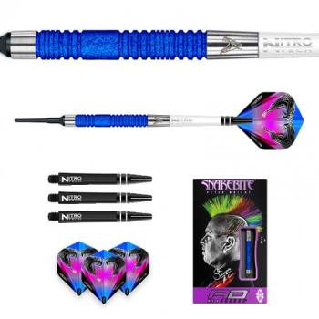 Peter Wright Snakebite Euro 11 Blue Element Softtip