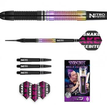 Red Dragon Peter Wright Snakebite World Champion 2020 Edition Softtip